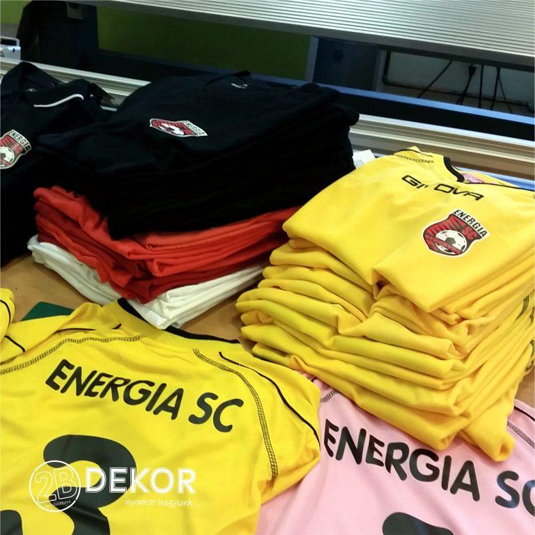 ENERGIA SC pólók