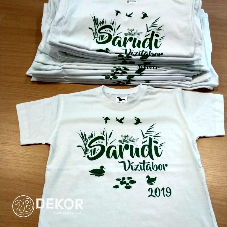 Sarudi vízi tábor 2019